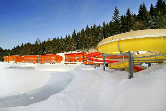 Spring holiday - ski in ski out hotel with aquapark and wellness